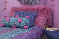 Large Fur Pillow