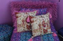 Asian Scene Pillow