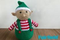 Crochete Christmas Elf