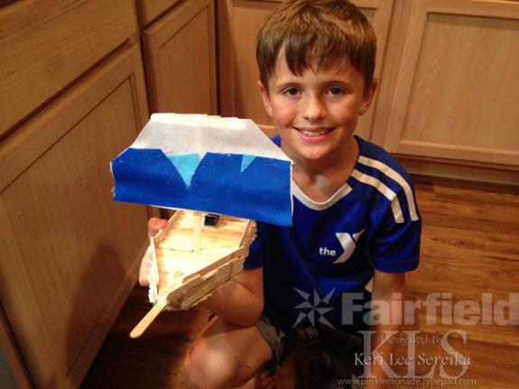 Oly-Fun simple Sailboat craft for kids- Keri Lee Sereika