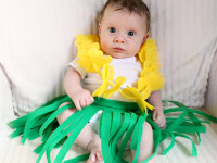 DIY Hula Costume