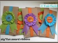 oly fun award ribbons