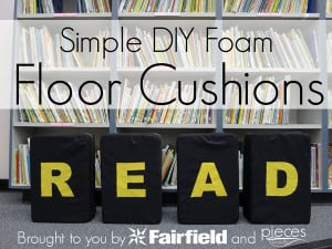 DIY Simple Floor Cushion Tutorial