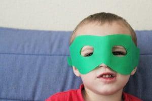 simple superhero mask