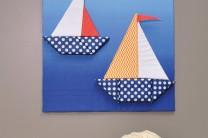 Foam Boats Wall Art