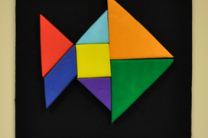 Tangram Wall Puzzle