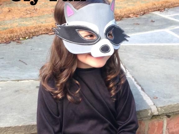 Raccoon mask olyfun