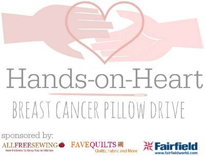 hands on heart post mastectomy pillow  drive