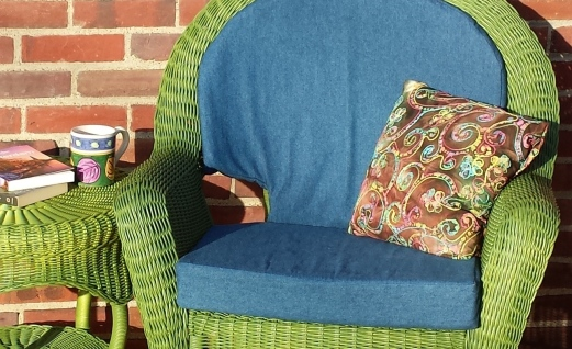 green chair cushions kitchen chair diy chair cushions fairfield world craft projects