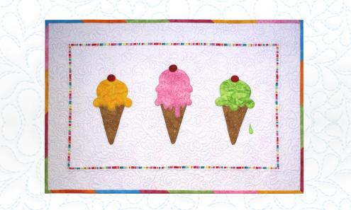 Scoop It Up Wall Hanging