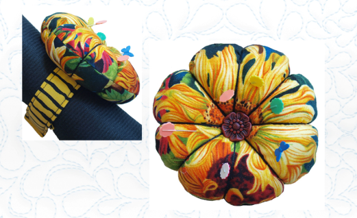 Flower Wrist Pin Cushion