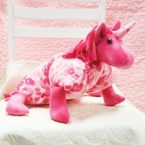 Plush Poly Pet Unicorn