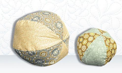 Panel Envelope Pillow Ball