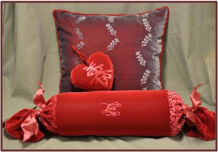 Embossed Velvet Pillows