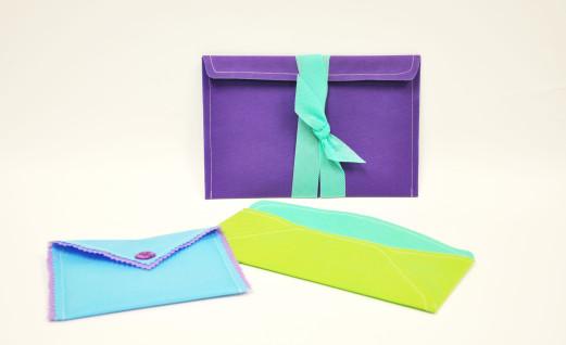 Fancy Fabric Envelopes