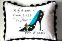 If the Shoe Fits Quilt and Pillow