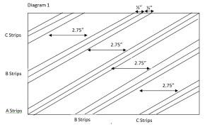 Ruffle Pillow Diagram 1
