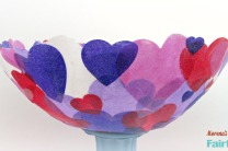 Fabric Heart Bowl