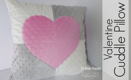 Valentine Cuddle Pillow
