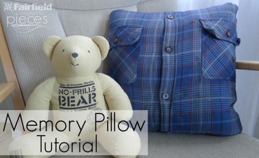 Memory Pillow Tutorial