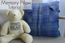 Granddad's Memory Pillow - Grief Pillow