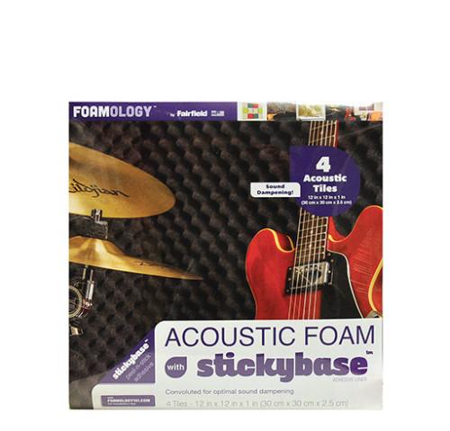 Acoustic Foam Tiles 12″ x 12″ – 4pc