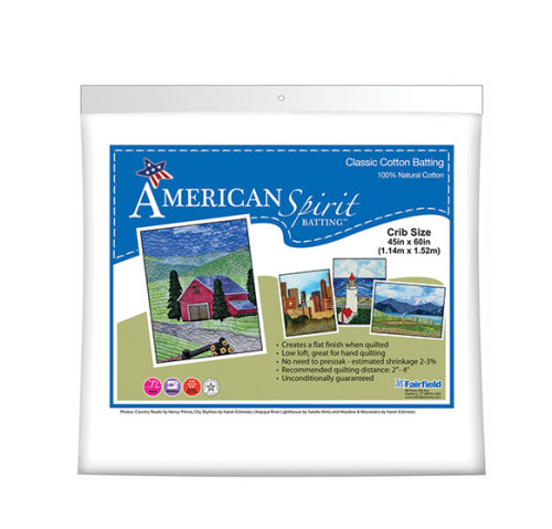 American Spirit Batting™ Classic Cotton 45″ x 60″