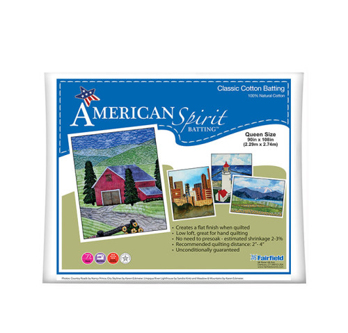 American Spirit Batting™ Classic Cotton 90″ x 108″