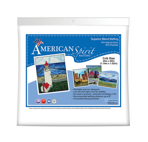 American Spirit Batting™ Superior Blend 45″ x 60″