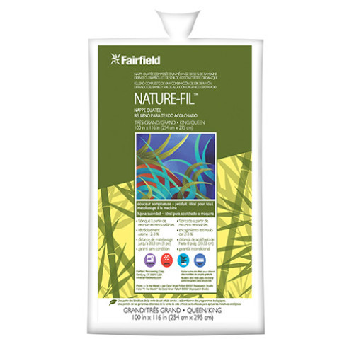 "Nature-Fil™ Bamboo Blend Batting 100"" x 116"""