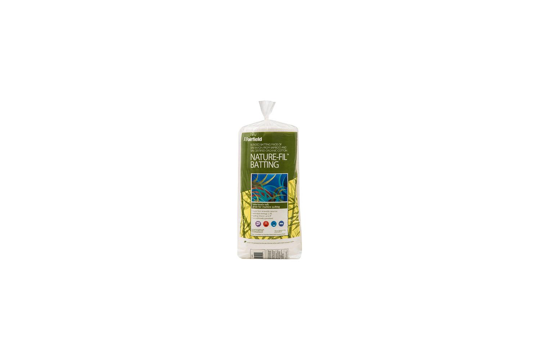 Nature-Fil BAMP60 Bamboo Blend Batting 60-Inch X 60-Inch Natural