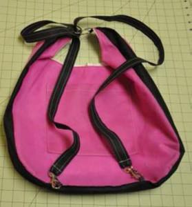 Boho Chic Day Bag back