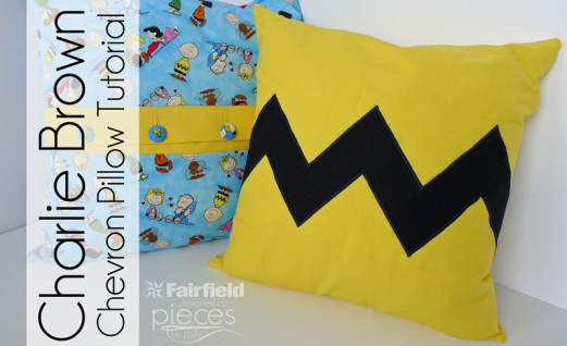 Charlie Brown Chevron Pillow Tutorial