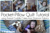 Pocket-Pillow Quilt Tutorial