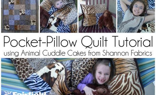 Animal Cuddle Pocket Quilt