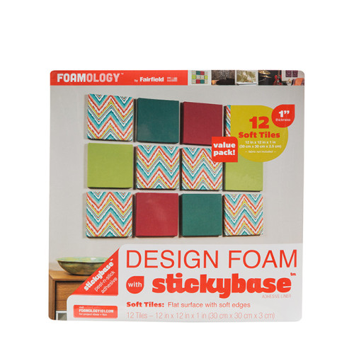 Design Foam Tiles 12″ x 12″ x 1″ thick – 12pc