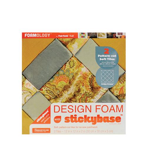 Criss Cross™ Design Foam Tiles 12″ x 12″ – 2pc