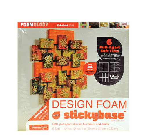 Design Foam Geometric Pull-Apart Tiles 12″ x 12″ – 6pc