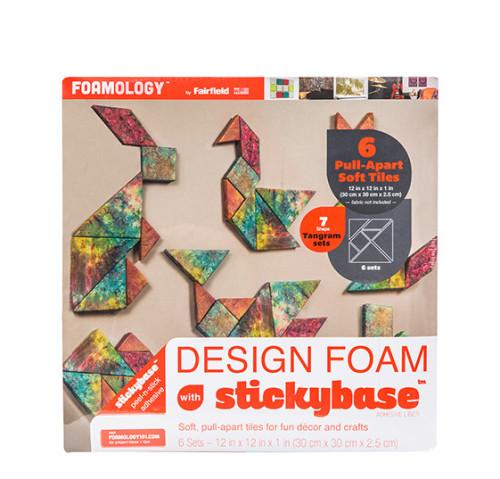 Design Foam Tangram Pull-Apart Tiles 12″ x 12″ – 6pc
