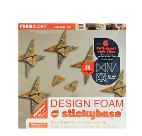 Design Foam Triangular Pull-Apart Tiles 12″ x 12″ – 6pc