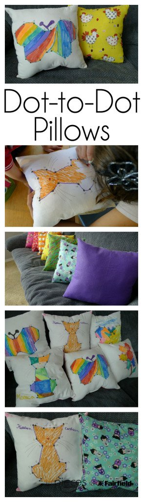 Dot-to-Dot Pillows