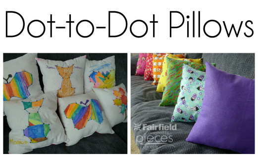 Dot-to-Dot Pillows Tutorial