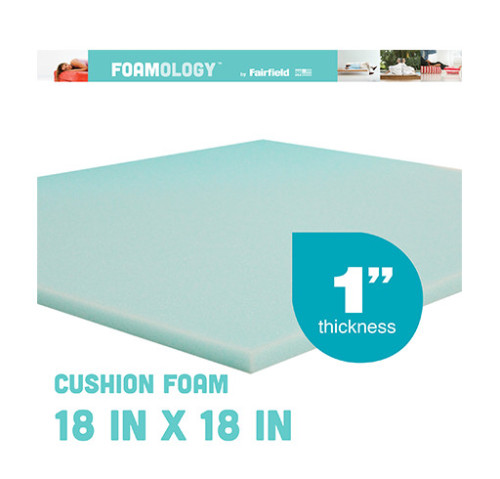 Soft Support Foam 18″ x 18″ x 1″ thick