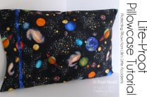 Life-Proof Pillowcase Tutorial