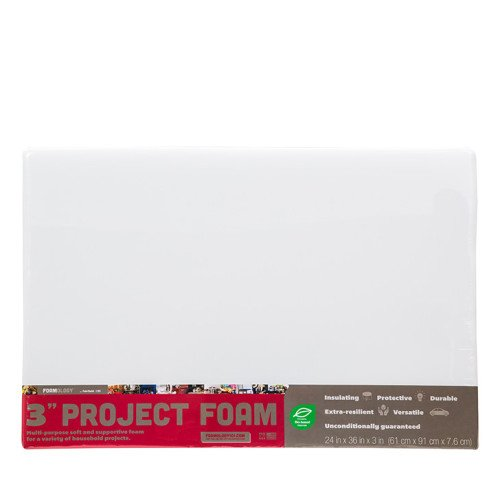 Project Foam 24″ x 36″ x 3″ thick
