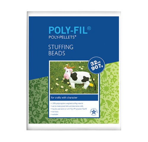 Poly-Fil® Poly Pellets® Weighted Stuffing Beads 2 pound Bag