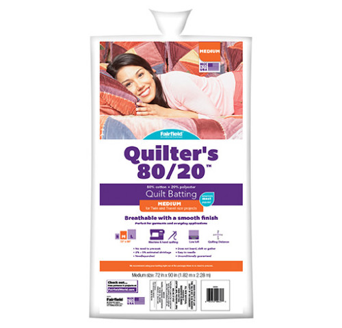 Quilters 80/20™ Batting 72″ x 90″