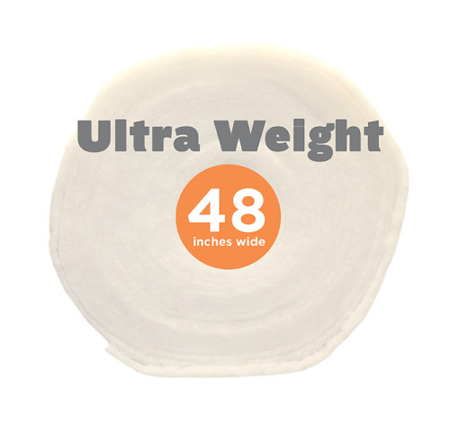 Poly-Fil® Ultra-Weight Batting 48″ wide x 18 yard Roll