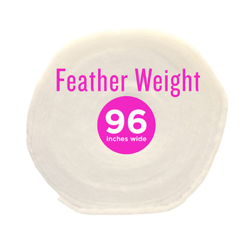 Poly-Fil® Feather-Weight Batting 96″ wide x 30 yard Roll