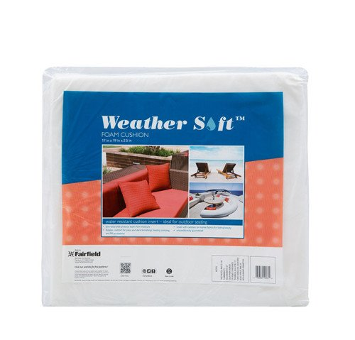 "Weather Soft™ Foam Cushion 17″ x 19″ x 2½"" thick"